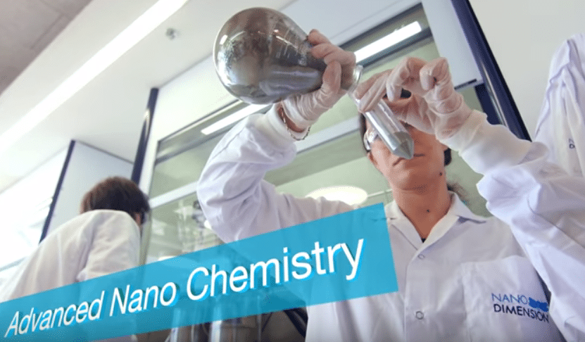 Nano Dimension chemistry