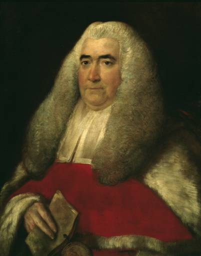 Sir William Blackstone: a 1780s lawyer.