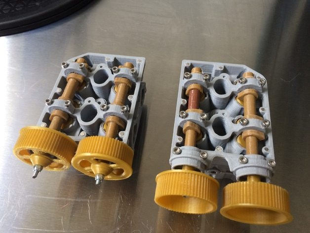 3D printed Subaru engine, fully functional and a work of art