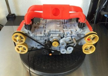 Subaru Engine, fully 3D printed and operational