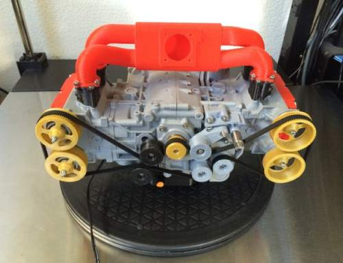3D printed Subaru engine is a thing of beauty