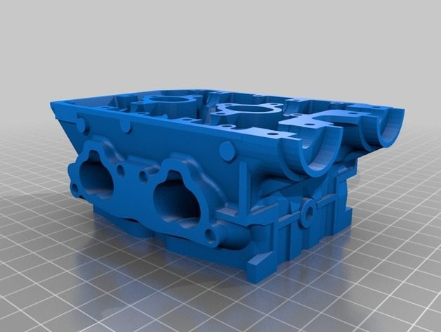 A part of the 3D printed Subaru engine on Thingiverse