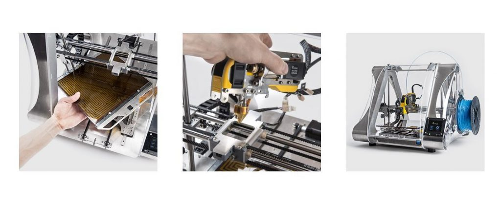 Zmorph 2.0 Multitool, a PC factory in action