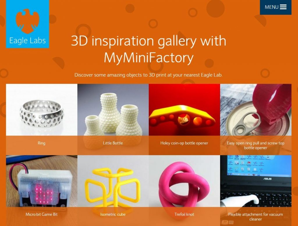 Barclays and MyMiniFactory link up for 3D printing fab labs
