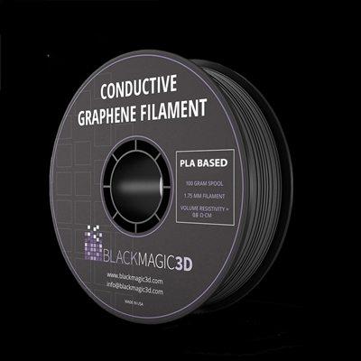 Graphene filament of Black Magic 3D