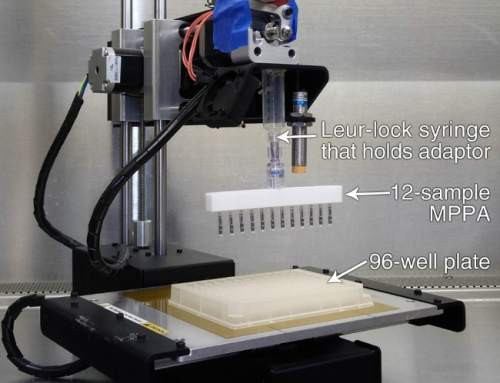 This hacked 3D printer can detect infectious diseases