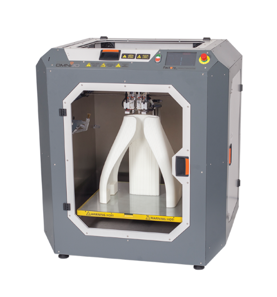 OMNI3D Releases Factory 2.0 Industrial FFF 3D Printer
