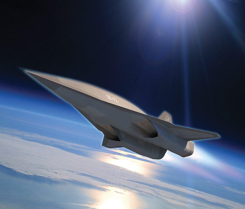 Lockheed Martin next gen SR-72 stealth plane