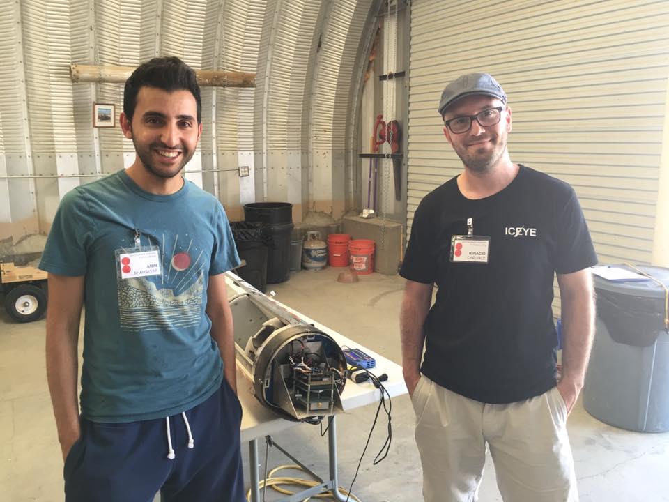 Iceye engineers
