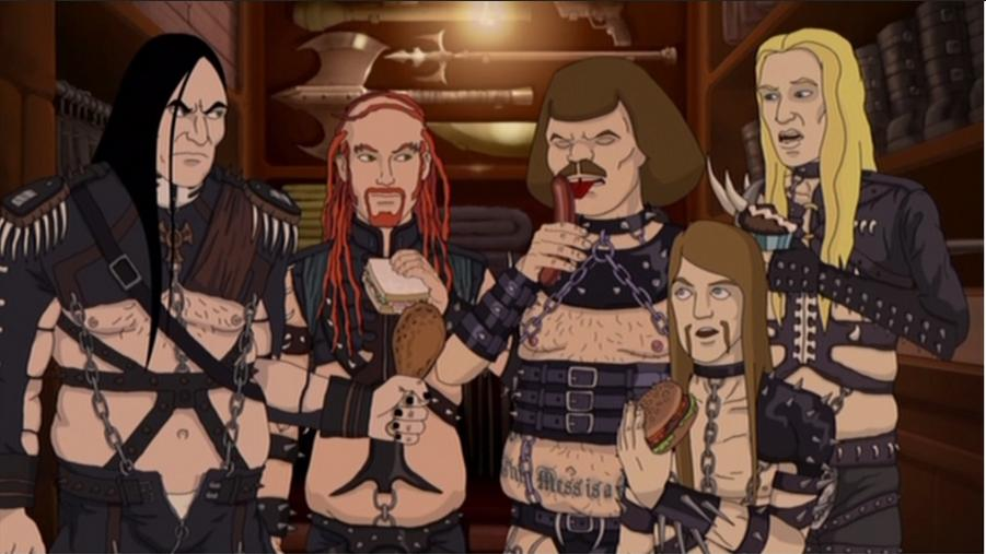But the many brutal competitor in the metal market (image courtesy of Adult Swim)