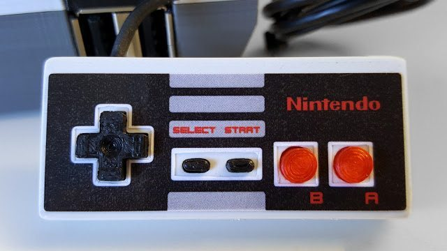 Raspberry Pi NES controller by daftmike