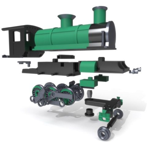 3D Printed Steam Engine LayerTrove