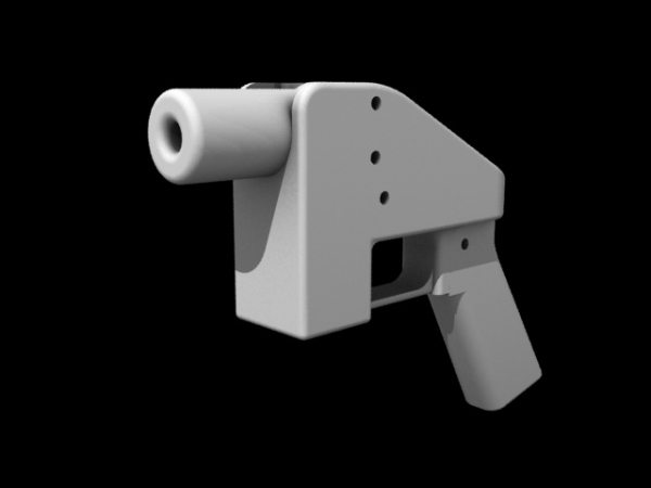 The original 3D printed gun, The Liberator