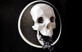 3d snapback_skull