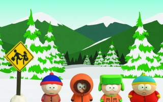 South Park figurines. Image: Shapeways