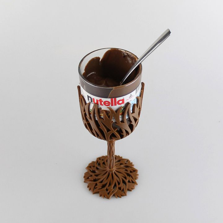 It's basically just fancy Nutella now.. Image: MyMiniFactory