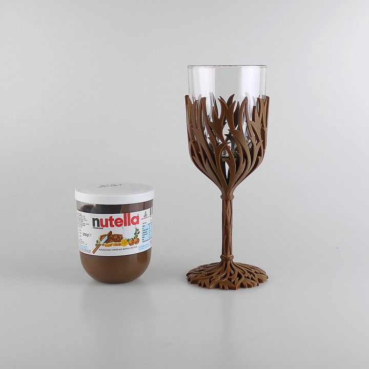 Turn your old jar into a wine glass! Image: MyMiniFactory