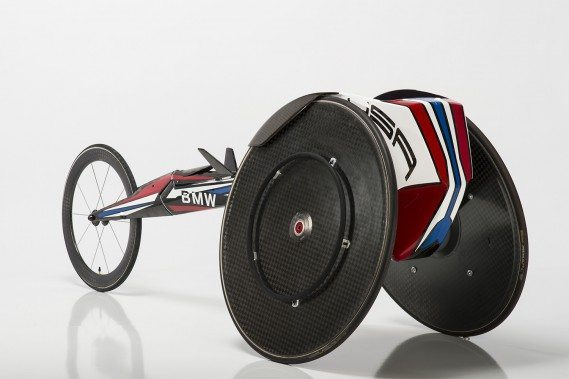 BMW Wheelchair for the US Olympic team