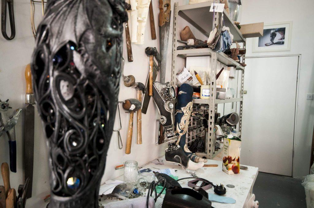 Sophie De Oliveira Barata's studio. Image: Katie Armstrong