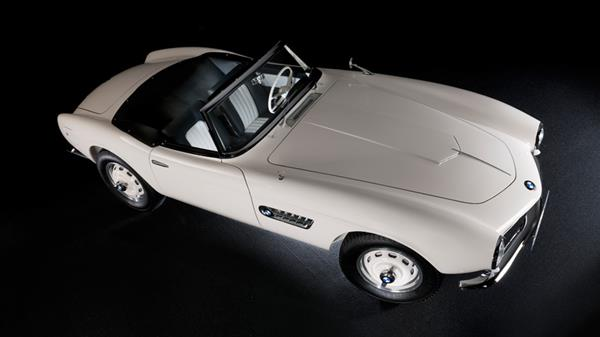 Elvis Presley's BMW 507 after a two-year restoration