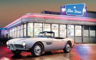 Elvis Presley's BMW 507 has been brought back to life