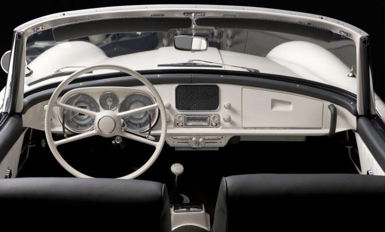 Elvis Presley's BMW 507 after the restoration