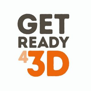GetReady43D logo