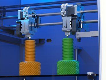 Leapfrog 3D printing device Bolt dual head
