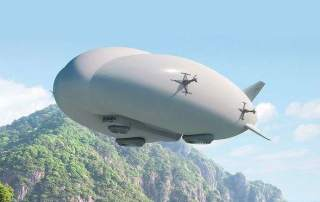 SPIDERS will check the Lockheed Martin Airship, the LMH-1