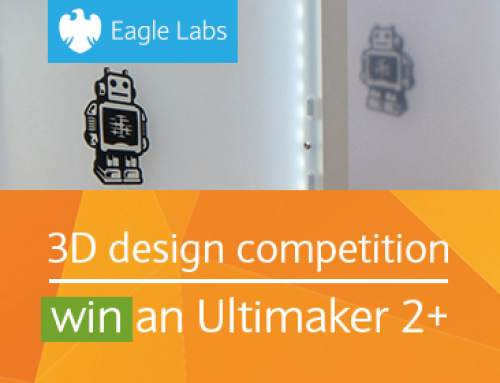 MyMiniFactory launches 3D printing competition with Barclays Eagle Labs