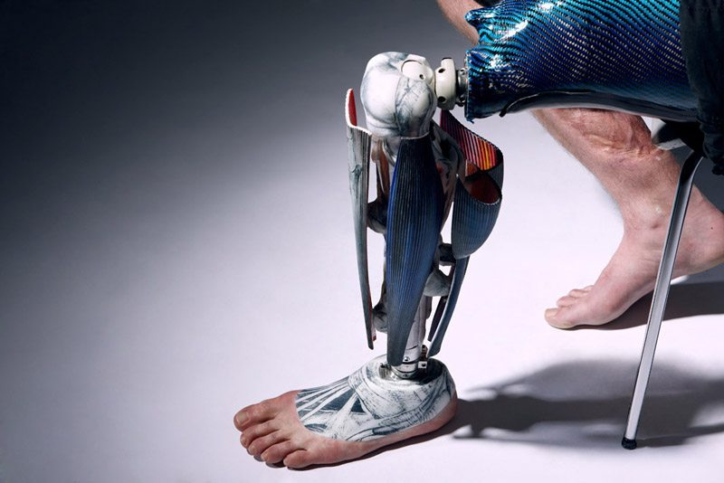 Anatomical Leg. Image: Omkaar Kotedia