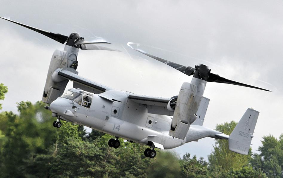 Boeing's V-22 Osprey. Image courtesy of Boeing.