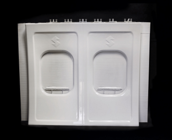 Stratasys Infinite-Build 3D Demonstrator part Aircraft Panel