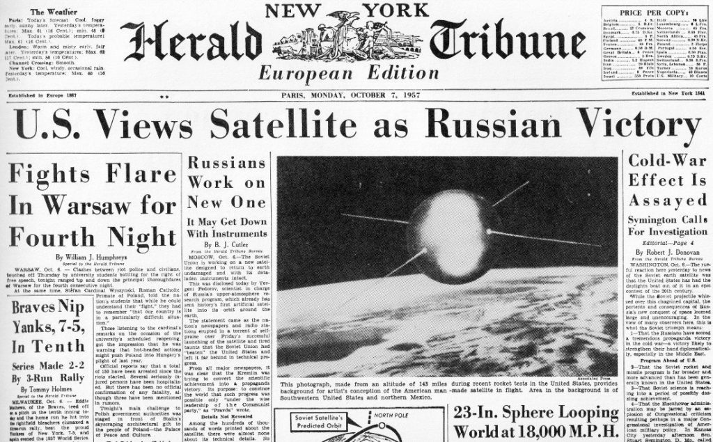 DARPA were founded in 1958 to prevent surprises such as Sputnik.