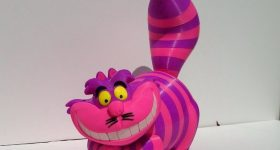 Steve Solomon, RedDadSteve, has made this stunning Cheshire Cat