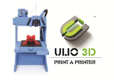 Ulios 3D will let you build a 3D printer with another 3D printer