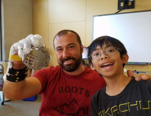 9 Year Old 3D Printing Enthusiast Prints Prosthetic Hand for Teacher