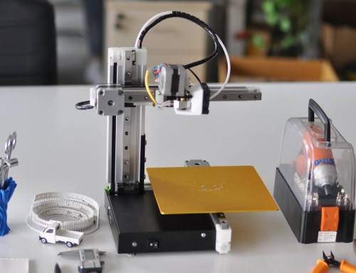 Kickstarter launch for compact, hackable 3D printer