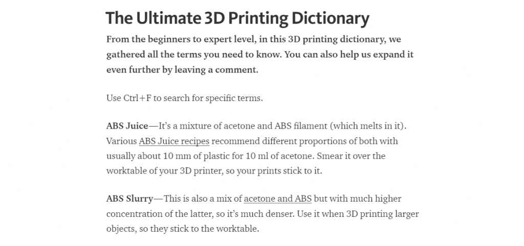 Must have 3d printing dictionary 3d printing industry for Together dictionary