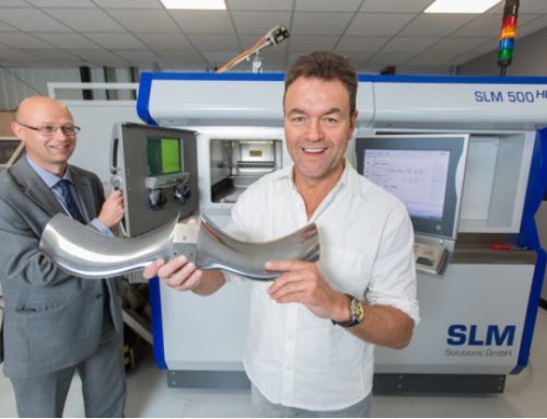 3D Printer Starts Work in Formula 1
