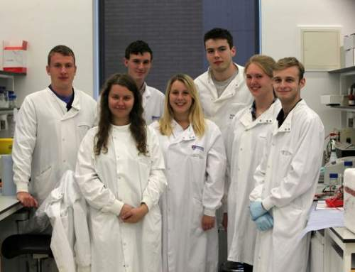 Newcastle students power light with MCFs using GMO e. coli
