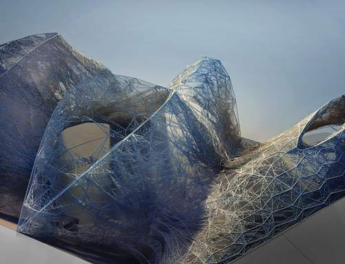 Building with robots and recycled plastic