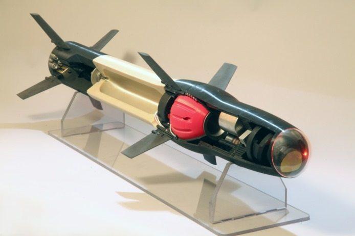 3D printed missile