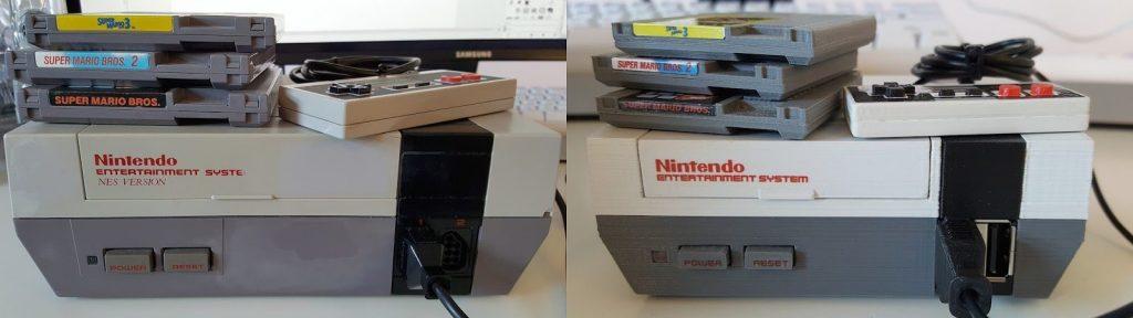 Raspberry Pi NES case by daftmike
