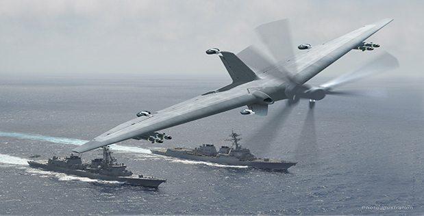 TERN is DARPA's drone program.