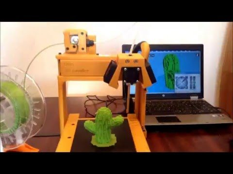 Ulio 3D is a 3D printing device which you can manufacture with another 3D printing device