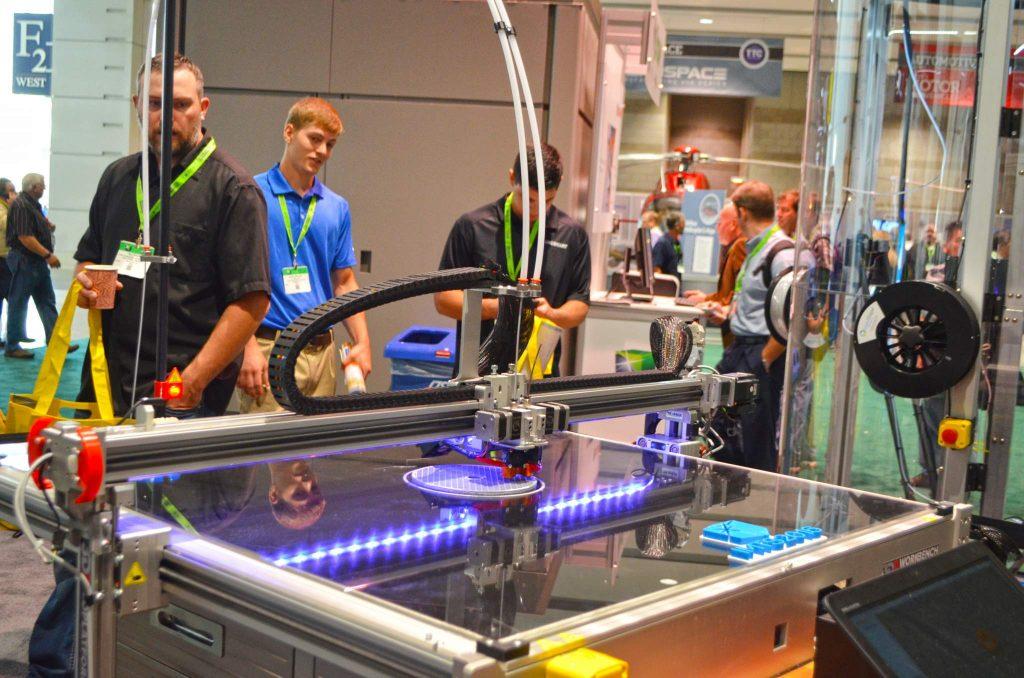 3D Platform's large format 3D printer