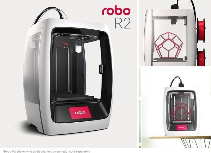 Robo R2. Image: Robo3D