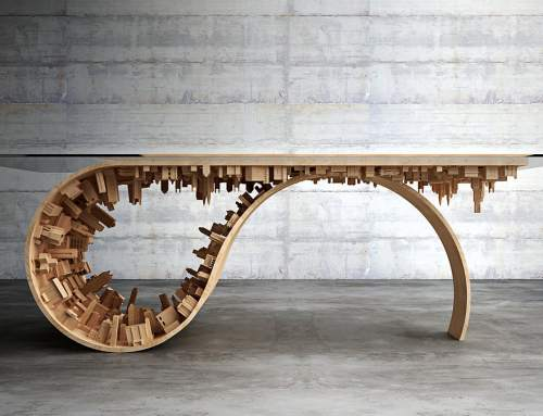 Exquisite 3D printed art table and more