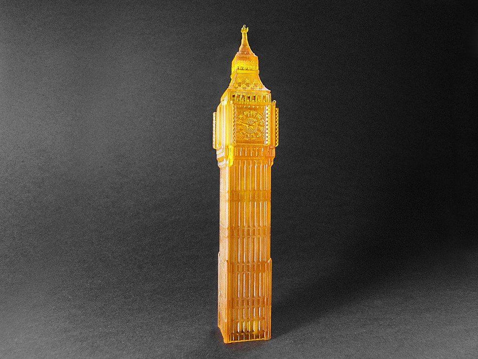 Big Ben. Image Lightning 3D